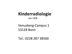 Kinderradiologie